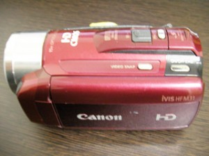 Canon iVIS HF M31 復元 福島県いわき市