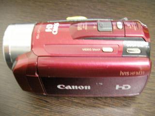 Canon iVIS HF M31 復元 福島県いわき市