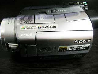 ソニー ハンディカム HDR-SR7のデータ復旧