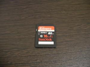 SDHCカード 16GB SanDisk データ復元 神奈川県横浜市鶴見区