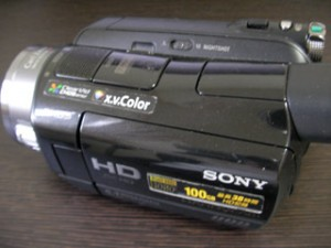 SONY HDR-SR8 データ復旧 静岡県静岡市のお客様