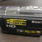 SONY HDR-CX520V データが消えた 千葉県千葉市のお客様