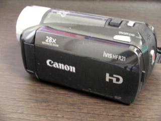 Canon iVIS HF R21 データ救出