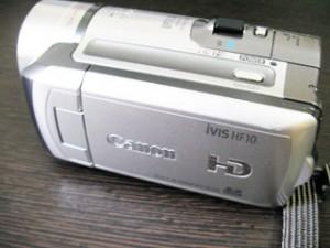 Canon iVIS HF10 データ復旧 埼玉県川口市のお客様