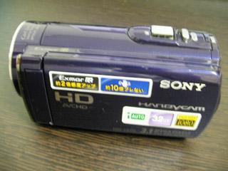 HDR-CX170 SONYビデオカメラ データ救出 東京都江戸川区のお客様
