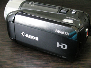 Canon iVIS HF R21 データ復旧 千葉県市川市のお客様