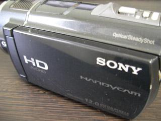 SONY HDR-CX520 ビデオカメラ データ復旧 鹿児島県姶良市