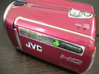 GZ-HD620-R JVC ビデオカメラデータ救出 千葉県木更津市