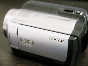 HDR-XR100 SONYデジタルビデオカメラ データ復旧 千葉県市原市