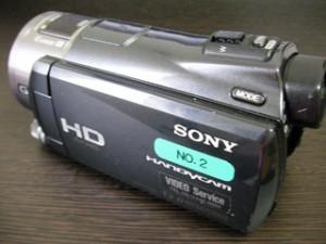 HDR-CX550V SONYハンディカム データ復旧