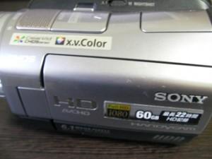 データ復旧 HDR-SR7 SONYハンディカム 山形県米沢市