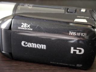 ビデオカメラデータ復元 HF R21 Canon iVIS 埼玉県志木市