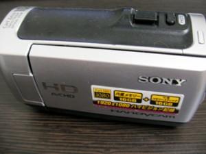 データ復旧 HDR-CX120 ソニーハンディカム 誤ってフォーマット 福岡県北九州市