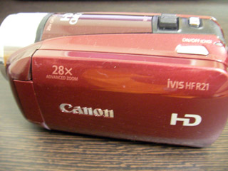 HFR21 Canon iVIS データが全て消えた 神奈川県横浜市栄区