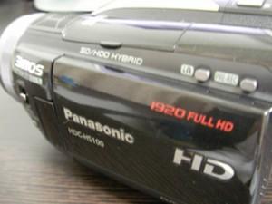 HDC-HS100 パナソニック ビデオカメラをフォーマット 三重県三重郡