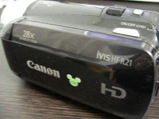 HF R21 iVIS キヤノン 誤操作によりデータ消去 千葉県我孫子市