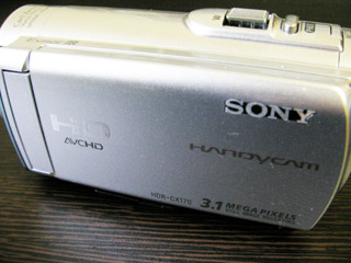 HDR-CX180 ソニー ビデオカメラのデータが消えた 愛知県豊田市