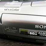 HDR-SR7 ソニー ビデオカメラのデータが全て消えていた 東京都青梅市