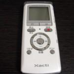 ICR-PS401RM Xacti ICレコーダー データが消えた 三重県鈴鹿市