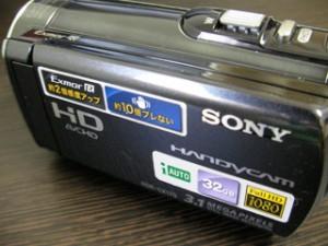 HDR-CX170 ソニービデオカメラのデータ救出