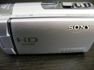 ビデオカメラのデータ復元 SONY HDR-CX180