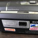 HDR-PJ590V ソニーハンディカムのデータ救出