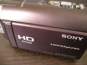 HDR-CX370V ソニービデオカメラのデータ復活