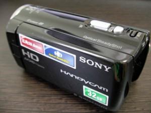 SONY HDR-CX270V ビデオカメラのデータ復旧 東京都