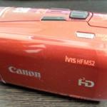 Canon iVIS HF M52 のデータを誤って消去した。