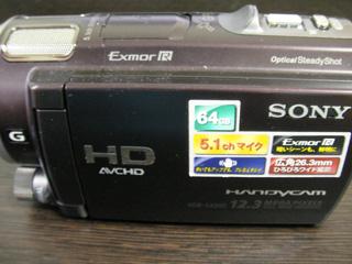 HDR-CX560V ビデオカメラのデータを復旧しました