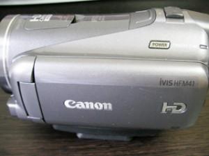 iVIS HF M41 Canon ビデオカメラのデータ復元に成功しました