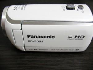 HC-V300M Panasonic ビデオカメラのデータ救出 広島県