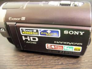 HDR-CX370の内蔵メモリを消去