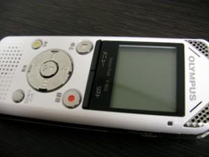 オリンパス ボイストレック V-802 データ復旧