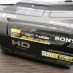 SONY HDR-SR12 データ復旧