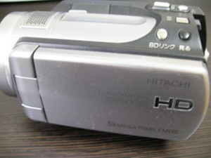 HITACHI WOOO DZ-HD90 復元