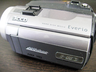 Everio GZ-HD6 HDDエラー