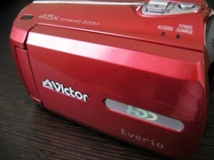 Victor Everio GZ-MG760-R 復元