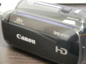 iVIS HFR21 キャノンビデオカメラのデータ復旧