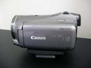 HF M41 iVIS キヤノン ビデオカメラのデータを全て消してしまった