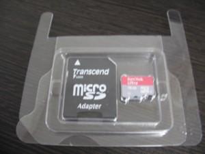 スマホで使用していたmicroSDカードの写真を消した