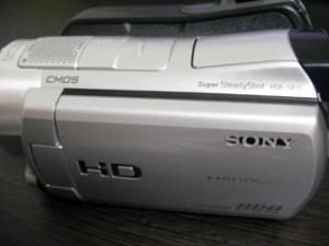 HDR-SR11 SONY ビデオカメラの動画データが消えてしまった