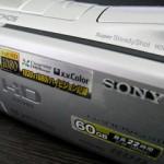 HDR-SR11 ソニー ビデオカメラの復元