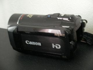 キャノン HF21 iVIS の復元