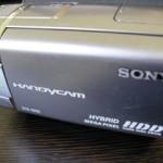 DCR-SR65 ビデオカメラのデータが消えた