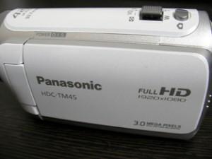 Panasonic HDC-TM45 ムービー誤消去