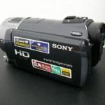 ビデオカメラのムービーを消した HDR-CX550 SONY