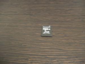 microSDカード2ギガ データ復元