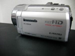 パナソニックビデオカメラのデータ救出 HC-V600M