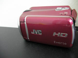 GZ-HD620R JVCビデオカメラのデータ救出